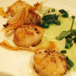 Sensational scallops. Just to die for.