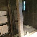 choix entre douche à l'italienne ou baignoire