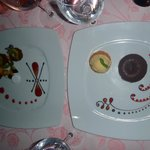 amazing desserts in Plaisirs restaurant