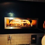 A real pizza oven for real pizzas