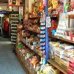 Inside sweets shop