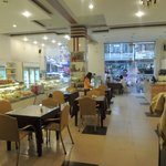 French bakery serving fastfood and pastry