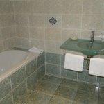 Clos des 3 Rois Salle de bain Chambre bleue