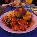 Fantastic roast dinner..yummy..yummy..yummy
