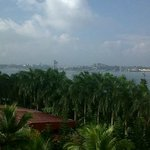 A nice view from the room towars to Kochin Port