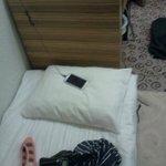 anchura de la cama 60 cm? comparación con el escritorio