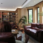 Guest Library Lounge at Canterbury Cathedral Lodge