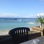 View from the breakfast area