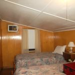 room with two twin beds in Too Kee cabin