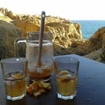 Sangria with a view