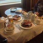 room service breakfast was fabulous