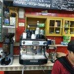 Like The coffee machine.
