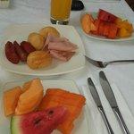 Desayuno delicioso...