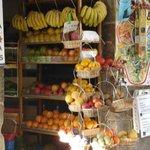 Preciosa Tienda de Frutas en Santiago de Compostela