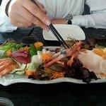Sashimi variado (imprescindible)