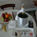 Treats from the staff - Honeymoon