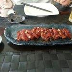 Sashimi de solomillo