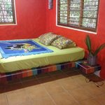 1 of the cabinas- king size bed