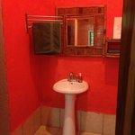 Full bathroom- shower, toilet, sink
