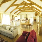Gorgeous open light space in Meadows Barn