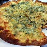 Quatro Cheese Flatbread