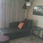 Sitzcouchbereich (Relaxzone)
