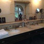 White Room vanity