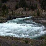 Rapids below the falls