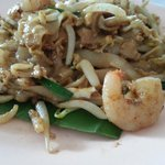 Char koay teow from the 1st coffee shop on the right of hotel, facing main penang road