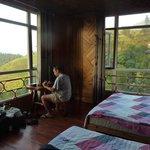 panoramic room view