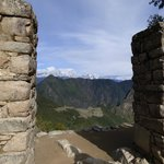 View of Machu Picchu from the Sungate.