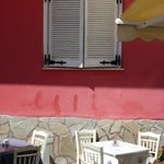 Tables by the taverna