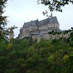 Chateau de Vianden, Vianden, Luxemburgo.