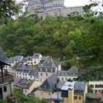 Chateau de Vianden, Vianden, Luxemuburgo.