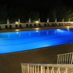 The pool at night - serene