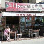 Good Turkish food - Hanimeli.