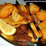 Il fritto misto piemontese: sontuoso, abbondante, squisito!