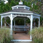 Gazebo with hammock