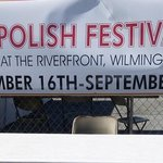 St Hedwig Polish Festival sign