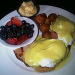 One of our many delicious breakfast options !