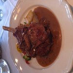 Veal chop with oyster sauce lunch special :/)