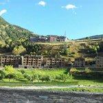 Hotel Magic desde el pueblo de Canillo