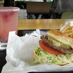 Sully's Bella Burger and Twilight Punch
