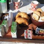 desayuno para 4