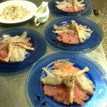 Varietà di pesce crudo