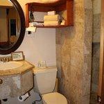 bathroom in the Olena room