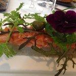 Smoked Salmon with Artichoke