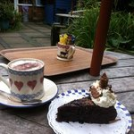 chocolate and beetroot cake!