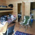 Deluxe cabin inside