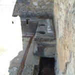 Roman toilets
